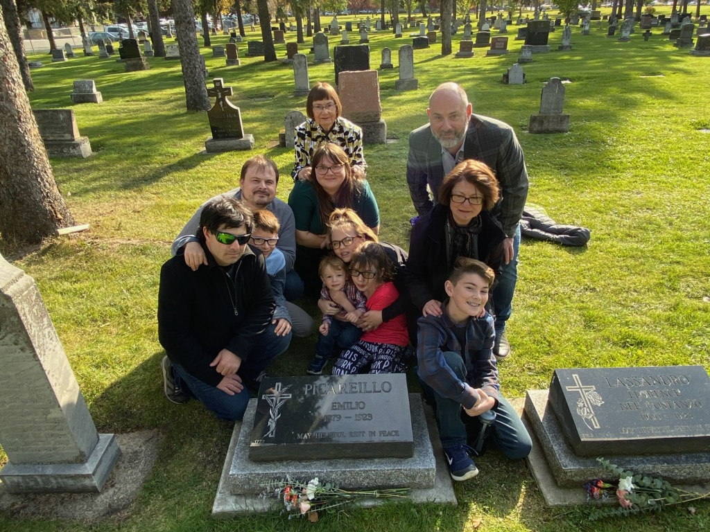 Picariello and Lassandro Graveside Talk